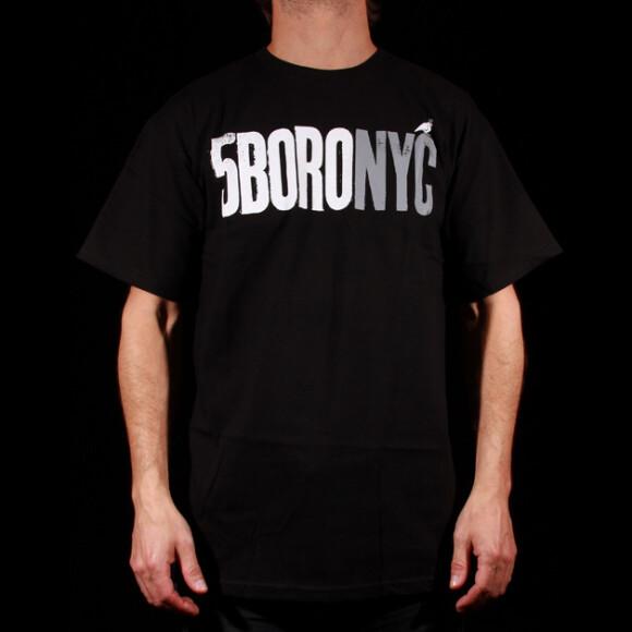 5 Boro - 5 Boro Letterpress T-Shirt