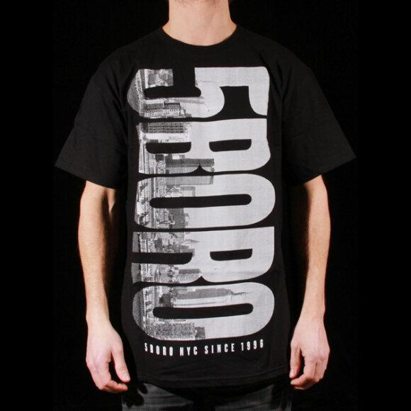 5 Boro - 5 Boro Skyline T-Shirt