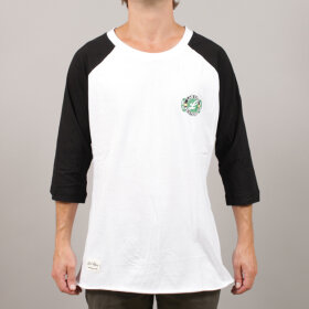 Lab - LabCph Raglan 3/4 Bottle Neck T-Shirt