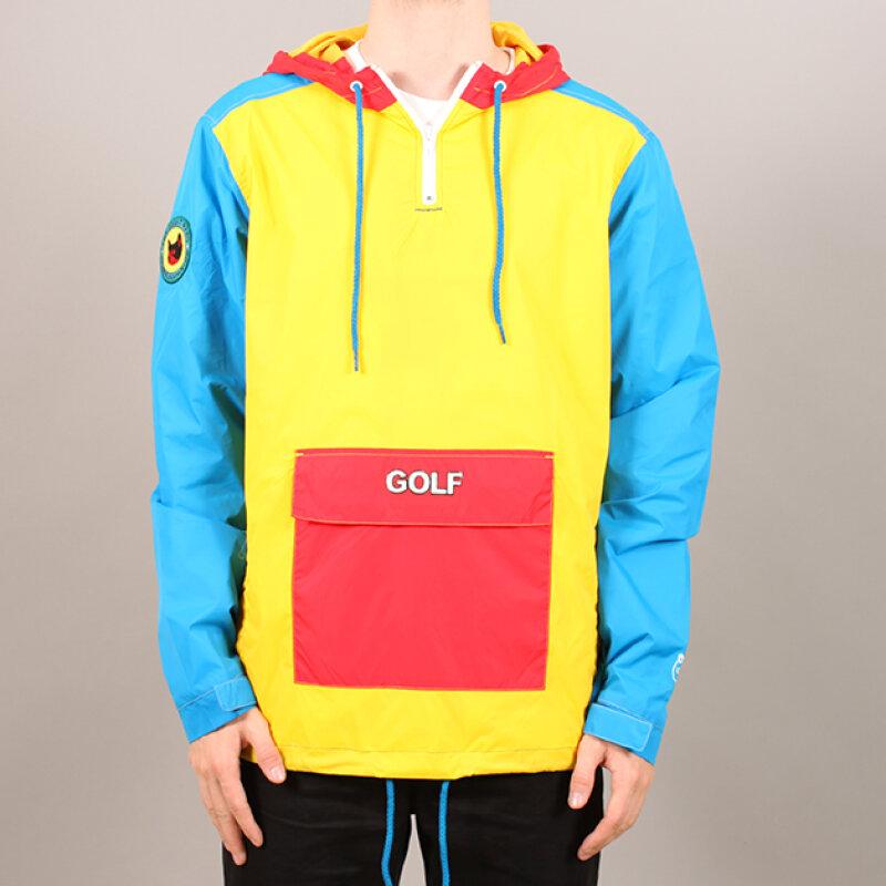 96f6ee8ed1c2cf Odd Future - Golf Wang Golf Tri-Color Jakke ...