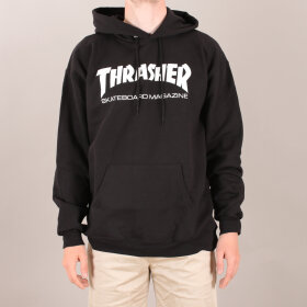 Thrasher - Thrasher Skate Mag Logo Hood Sweatshirt