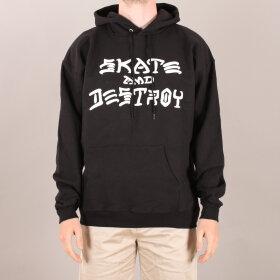 Thrasher - Thrasher Skate & Destroy Hood Sweatshirt