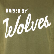 Raised By Wolves - Raised By Wolves Varsity T-Shirt