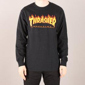 Thrasher - Thrasher Flame L/S T-Shirt