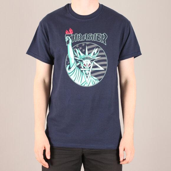 Thrasher - Thrasher Liberty Goat T-Shirt