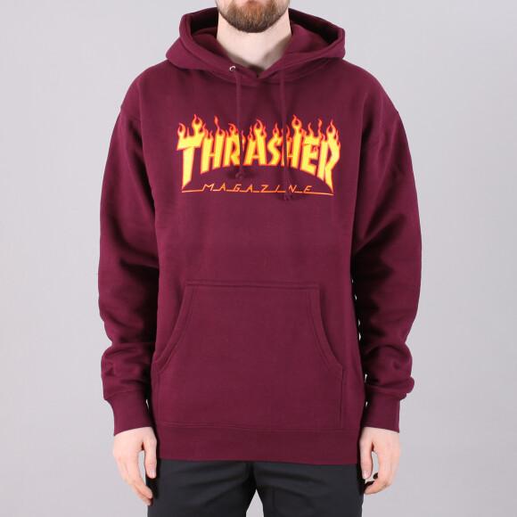 Thrasher - Thrasher Flame Hooded Sweatshirt