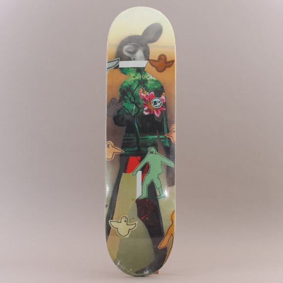 Krooked - Krooked Sebo Collage Skateboard
