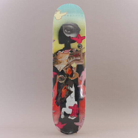 Krooked - Krooked Worrest Collage Skateboard