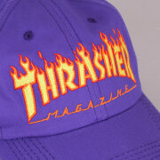 Thrasher - Thrasher 6-Panel Flame Old Time Cap