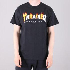 Thrasher - Thrasher Flame Mag T-Shirt
