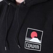 Edwin - Edwin Sunset on Mount Fuji Hooded Sweatshirt