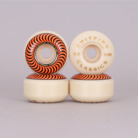 Spitfire - Spitfire Formula Four Classic Orange Skateboard Wheels