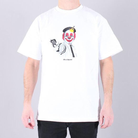 40s & Shorties - 40's Clown Tee Shirt