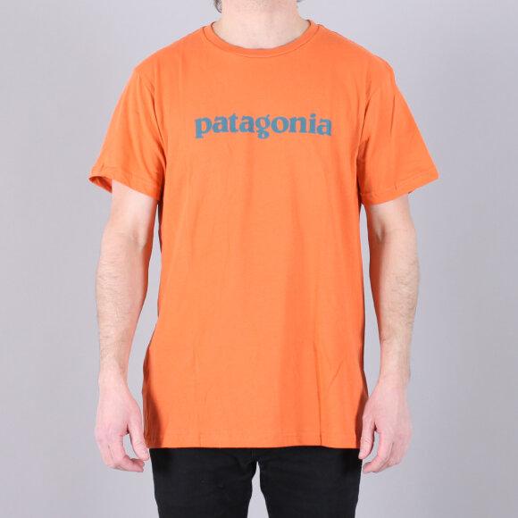 Patagonia - Patagonia Text Logo Organic T-Shirt