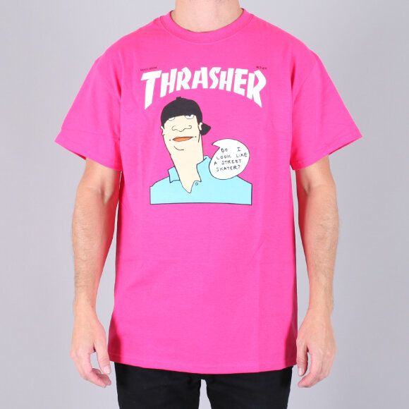 Thrasher - Thrasher Gonz Cover Pin T-Shirt