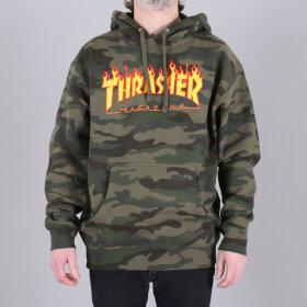 Thrasher - Thrasher Flame Camo Hood