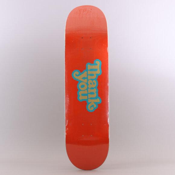 Thank You - Thank You Logo Skateboard