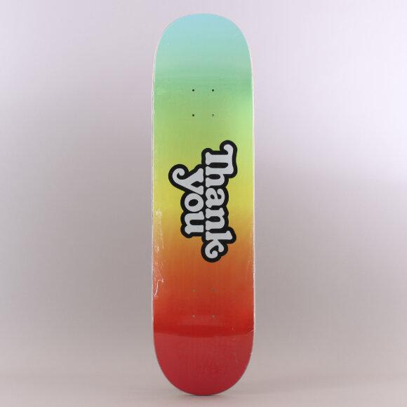 Thank You - Thank You Tie Dye Logo Skateboard