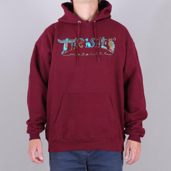 Thrasher - Thrasher Hieroglyphic Hood Sweatshirt