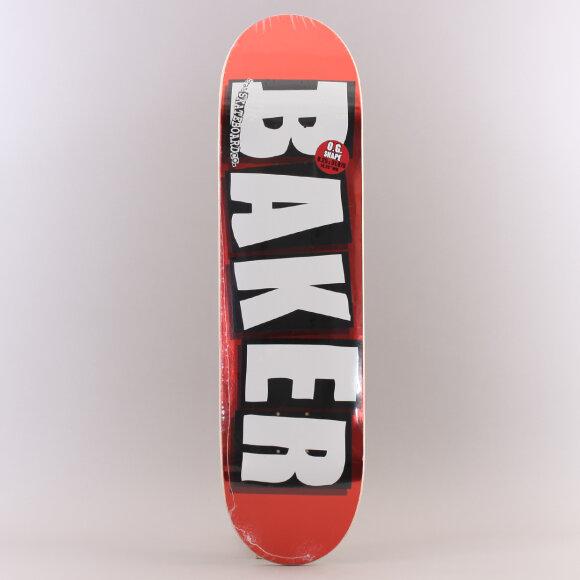 Baker - Baker Brand Logo Red Foil Skateboard