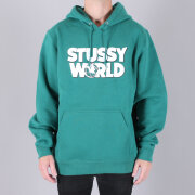 Stüssy - Stüssy World Hood Sweatshirt