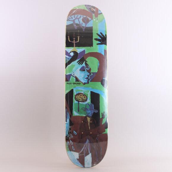 Polar - Polar Paul Grund Moth House Skateboard
