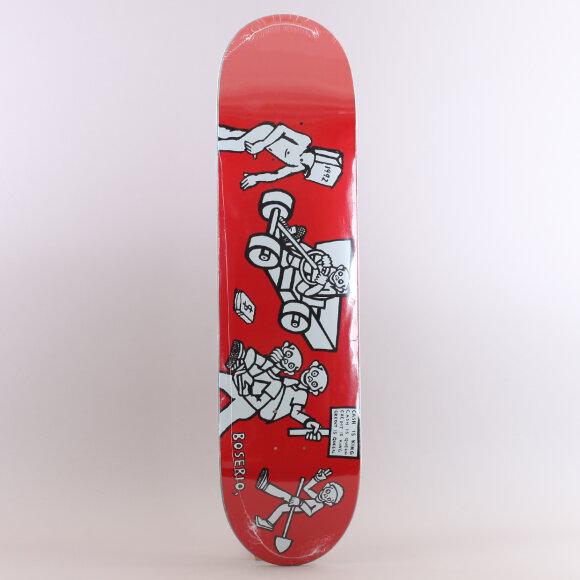 Polar - Polar NickBoserio Cash is Queen Skateboard