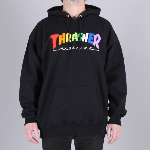 Thrasher - Thrasher Rainbow Mag Hood Sweatshirt
