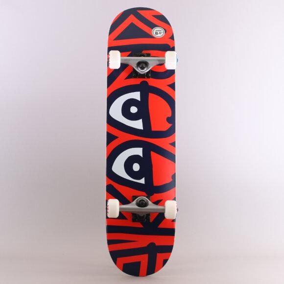 Krooked - Krooked Samlet Bigger Eyes Skateboard