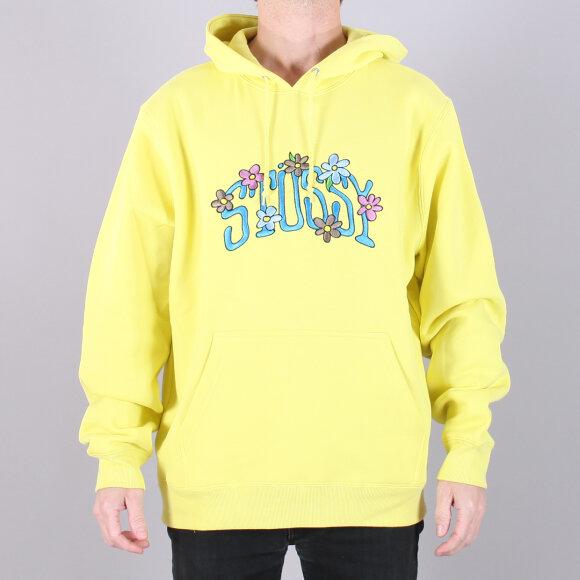Stüssy - Stüssy Collegiate Floral Hood Sweatshirt