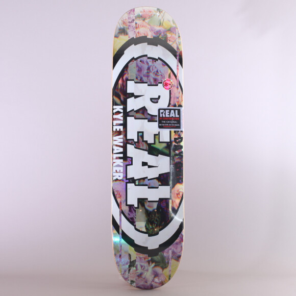 Real - Real Kyle Walker Glitch Oval Skateboard