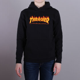 Thrasher - Thrasher Youth Flame Hood Sweatshirt