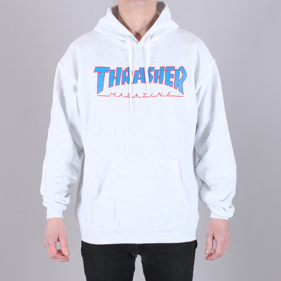 Thrasher - Thrasher Outlined Hood Sweatshirt