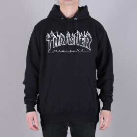 Thrasher - Thrasher Flame Hoody Sweatshirt