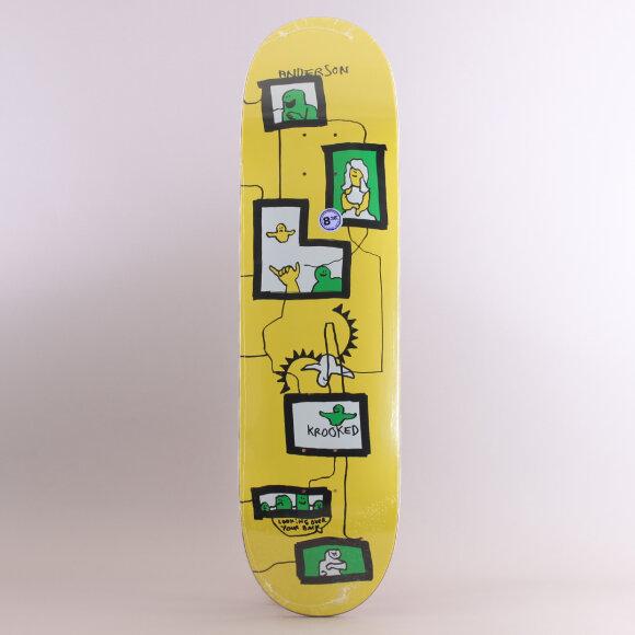 Krooked - Krooked Anderson Frames Skateboard