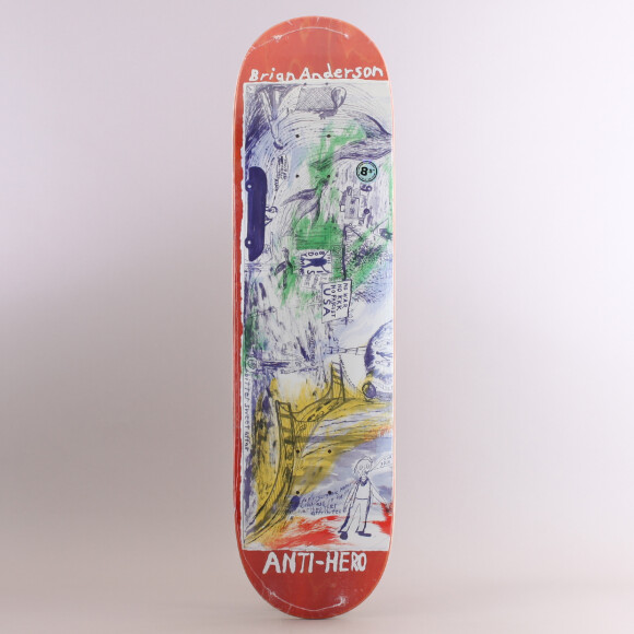 Antihero - Anti Hero Brian Anderson SF Then & Now Skateboard