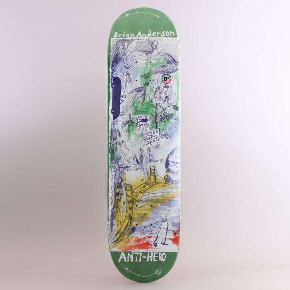 Antihero - Anti Hero Brian Anderson SF Then & Now Skateboard