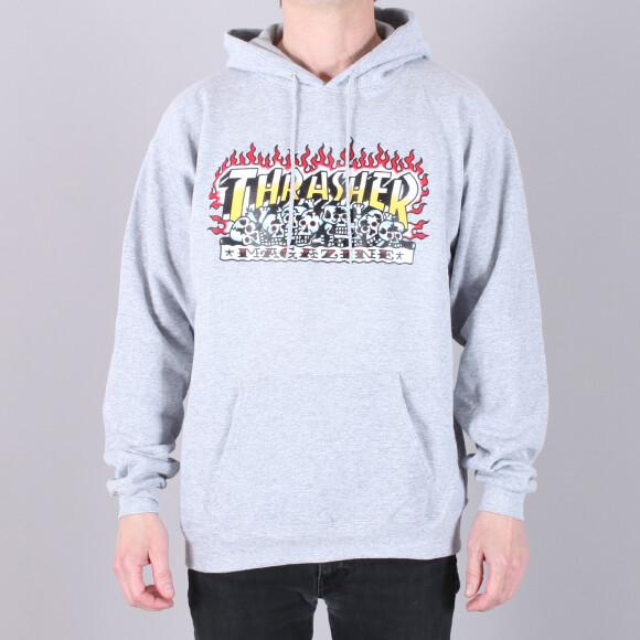 Thrasher - Thrasher Krak Skulls Hood Sweatshirt