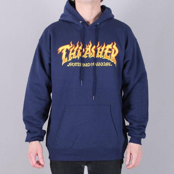 Thrasher - Thrasher Fire Logo Hood Sweat