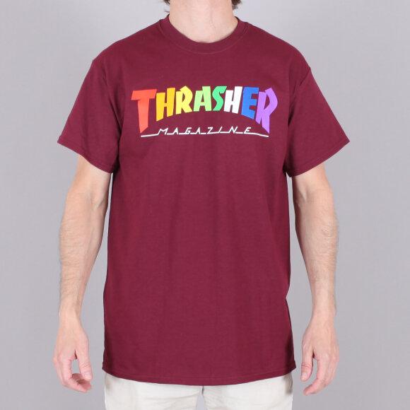 Thrasher - Thrasher Rainbow Mag Tee-Shirt