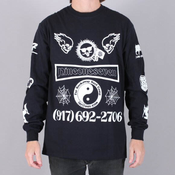 Call Me 917 - Call Me 917 Collage L/S T-Shirt
