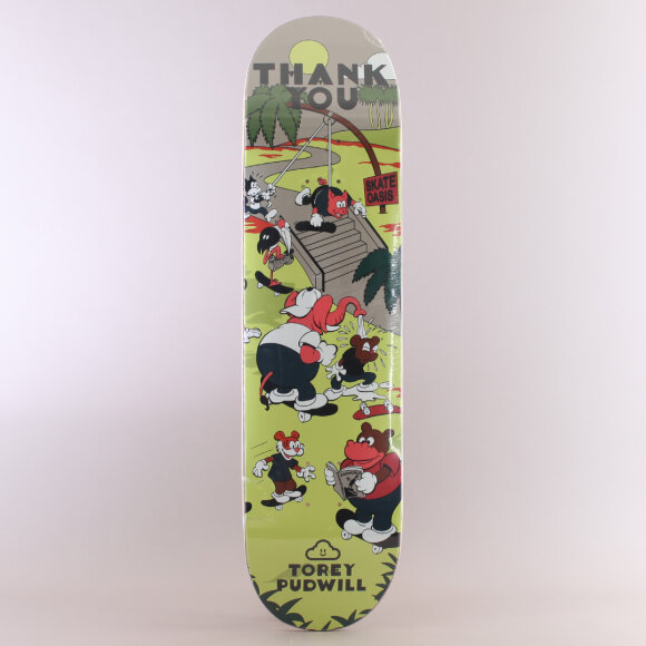 Thank You - Thank You Skate Oasis Torey Pudwill Skateboard